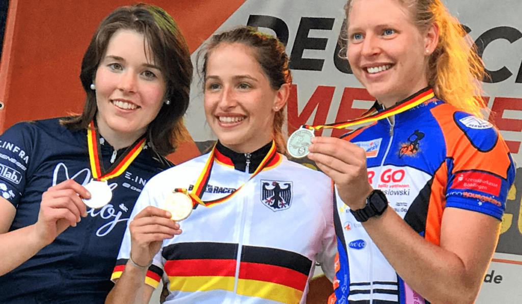Silber im Sprint bei den Deutschen Meisterschaften